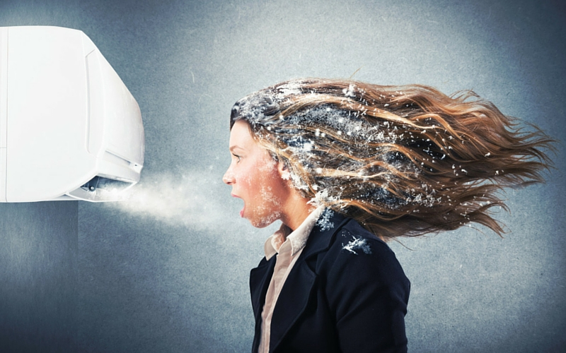 Air conditioning effect on hair loss in uae